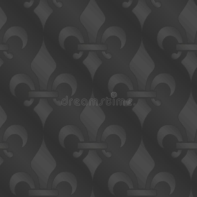 Download Royal Lily Seamless Background Stock Illustration - Illustration: 16271681