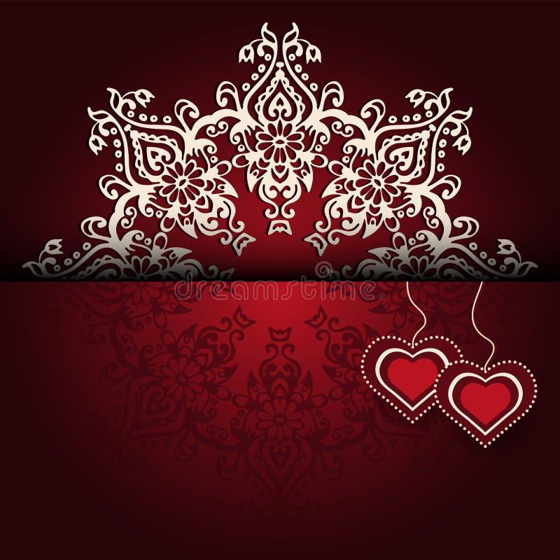 Free Royal Luxury Valentines Day Lace Background Stock Image - 38444201