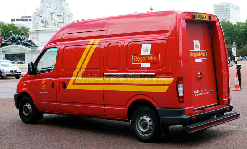 Royal Mail photographie stock