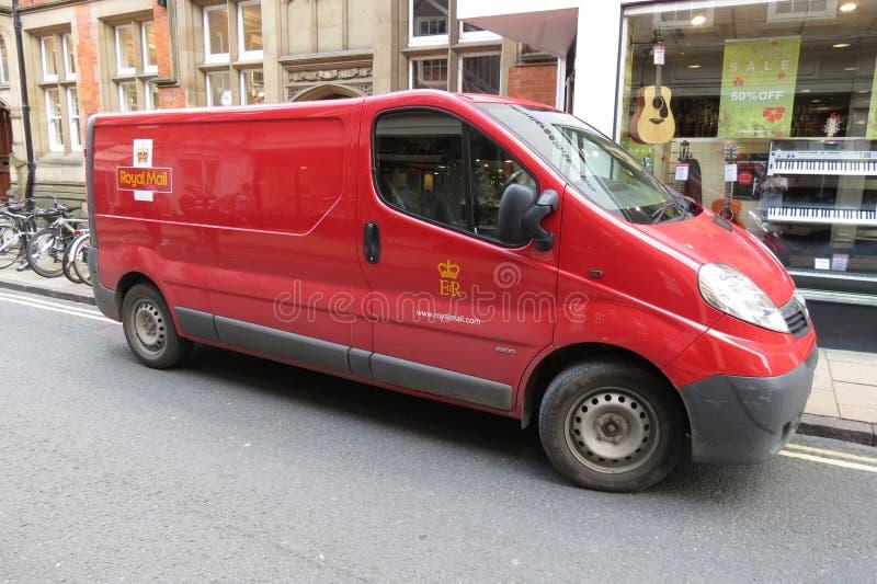 Royal Mail Van fotografia de stock