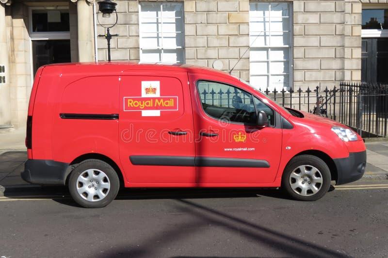 Royal mail van stock photos