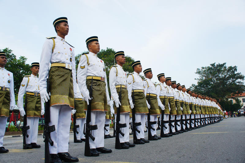 Royal malaysia army stock images