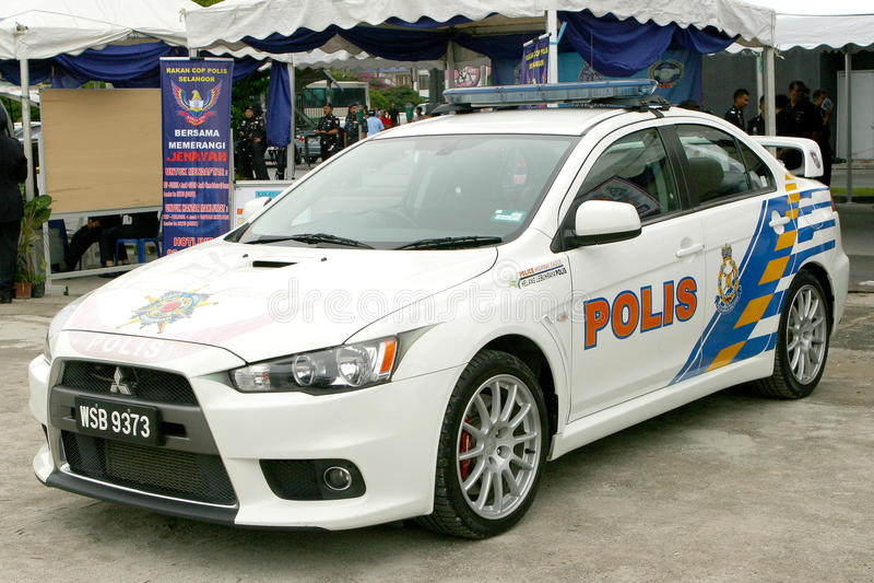 Download Royal Malaysian Police Mitsubishi Lancer Evolution Editorial Photography - Image: 15154057