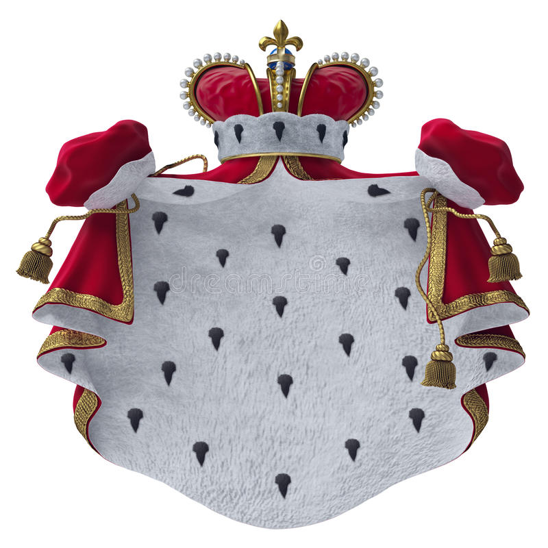 Royal Mantle Royalty Free Stock Photo
