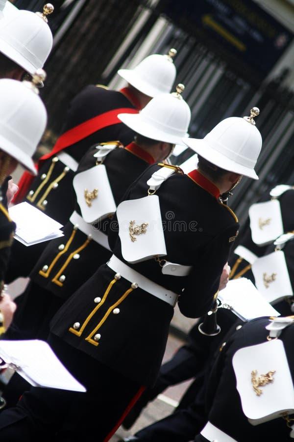 Royal Marines Band stock photography