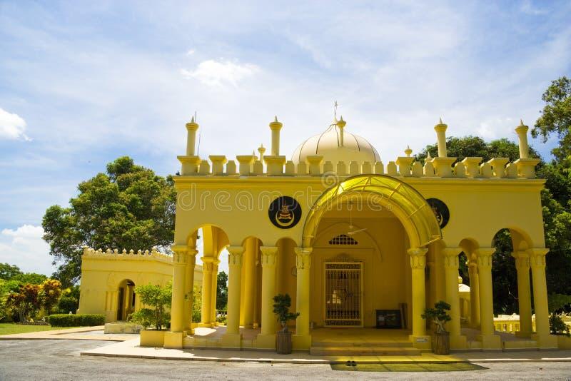 Royal Mausoleum of Sultan Abdul Samad, Jugra stock images