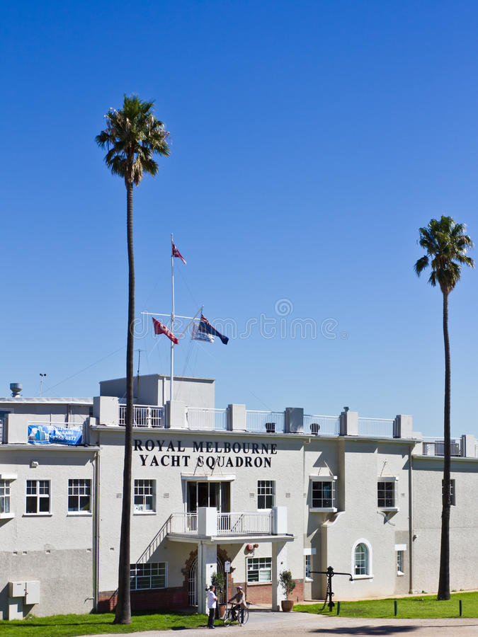 Download Royal Melbourne Yacht Squadron Editorial Stock Image - Image: 24302784
