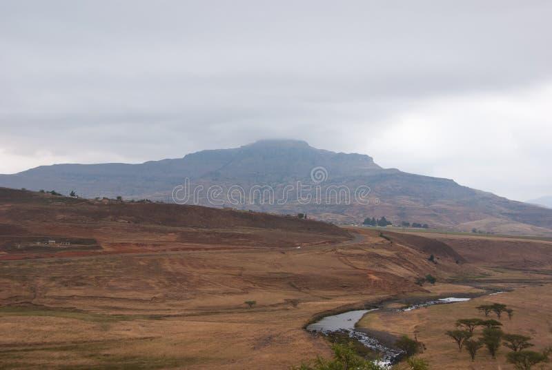 Royal Natal National Park. In Kwazulu Natal province, South Africa royalty free stock photo
