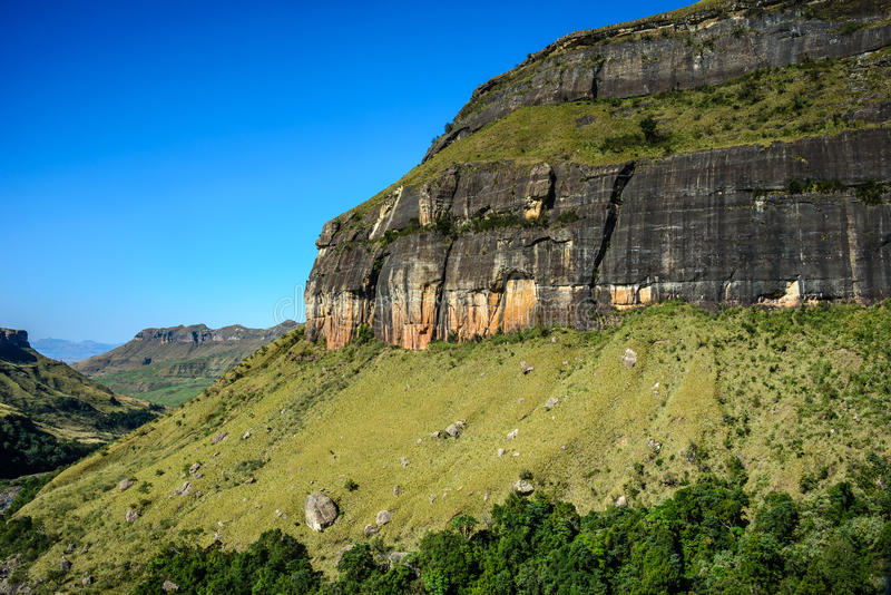 Royal Natal National Park, South Africa. Royal Natal National Park in the Drakensberg Mountains, South Africa stock photo