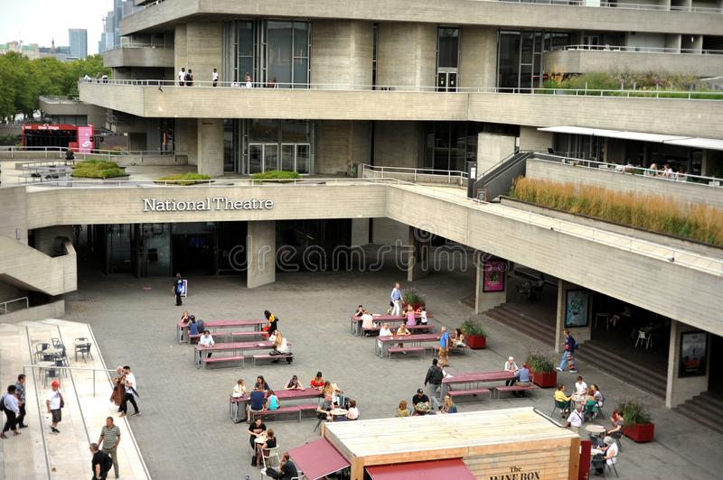 The Royal National Theatre in London is one of the United Kingdom`s three most prominent publicly funded performing arts venues. The current building is stock image
