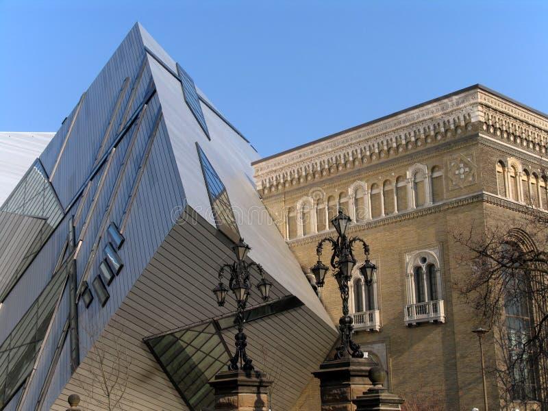 Royal Ontario Museum Toronto stock photo