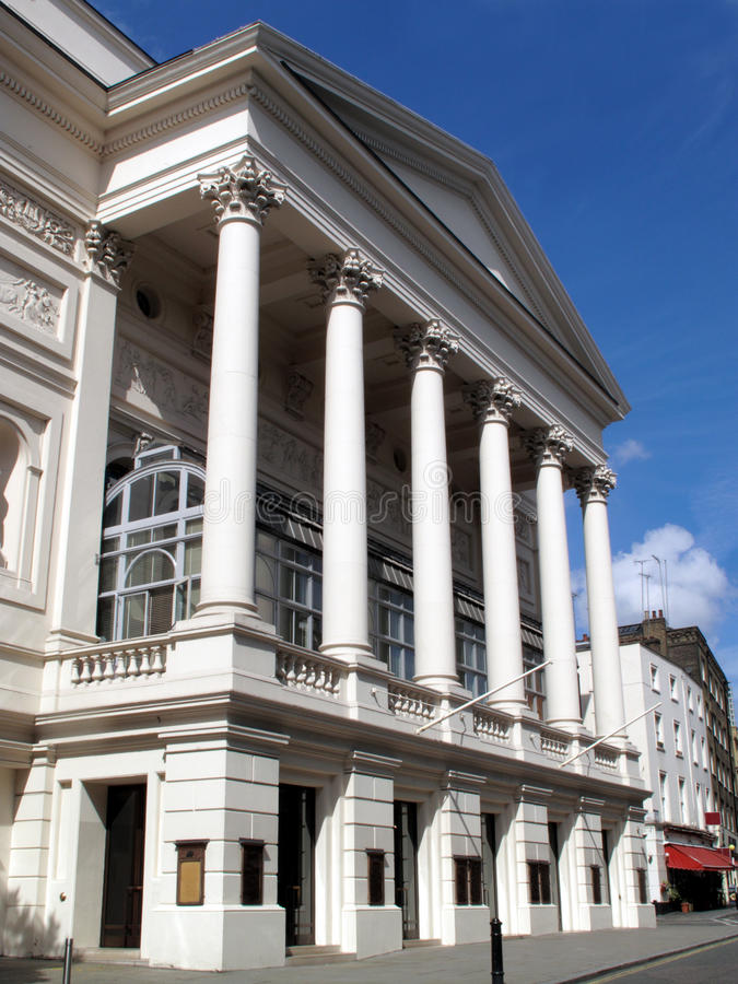 Download The Royal Opera House stock photo. Image of capital, opera - 9835754