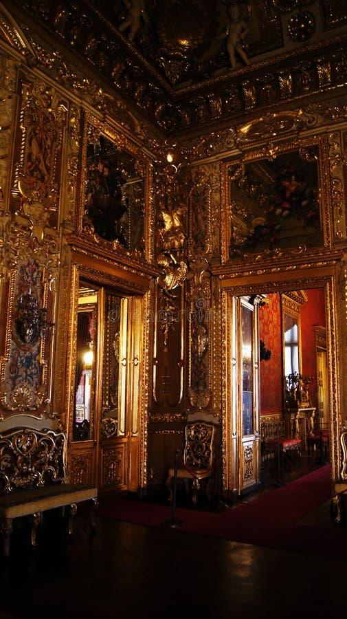 Royal Palace à Turin Palazzo Reale images libres de droits