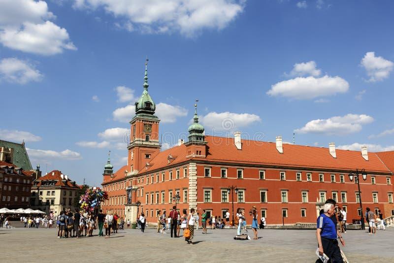 Royal Palace à Varsovie, Pologne images stock