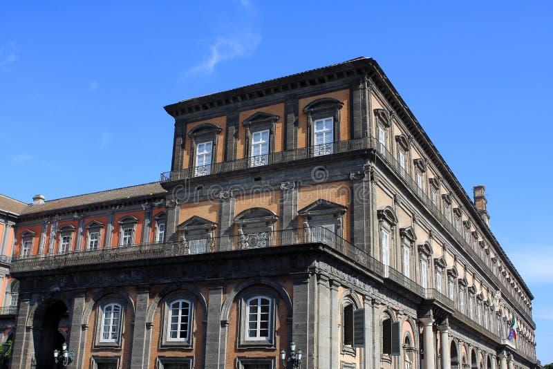 Royal Palace, Νάπολη στοκ φωτογραφίες