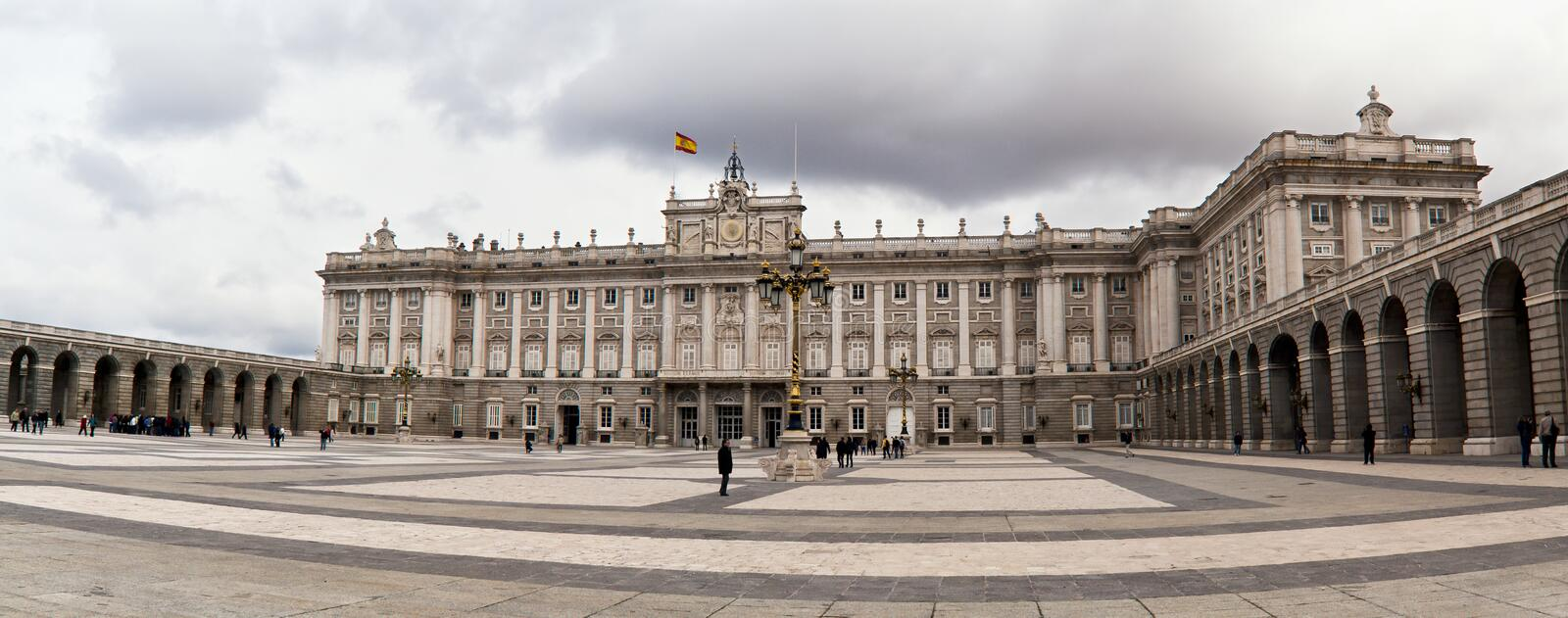 Download Royal Palace editorial image. Image of architecture, clouds - 25104100