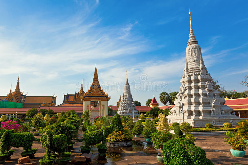 Download Royal Palace stock image. Image of outdoor, cambodian - 26571073