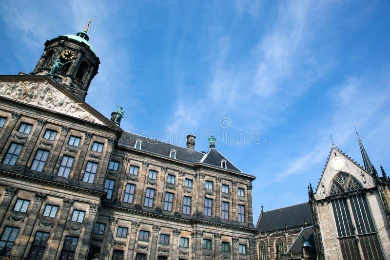 Royal Palace In Amsterdam Lizenzfreie Stockbilder