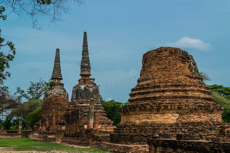Royal Palace antique à Ayutthaya Thaïlande image stock