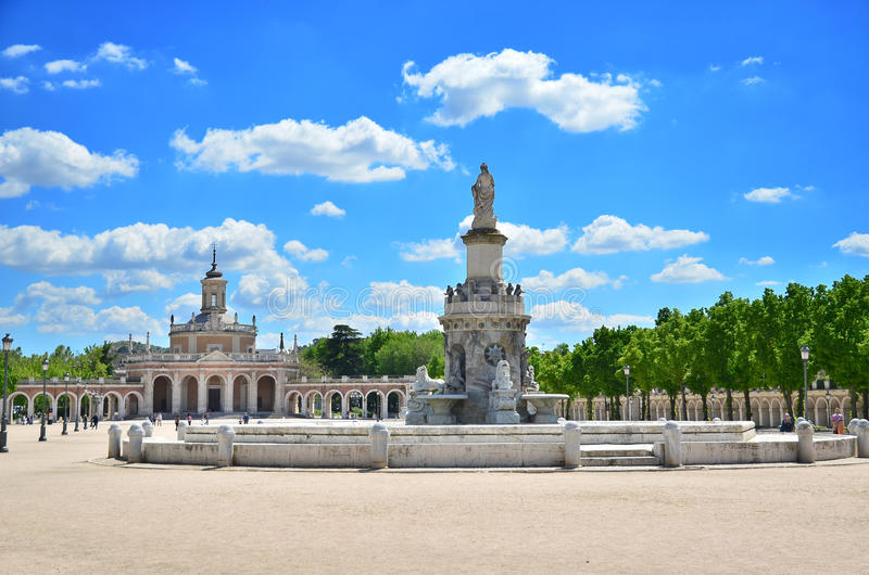 Royal Palace Aranjuez fotografia royalty free
