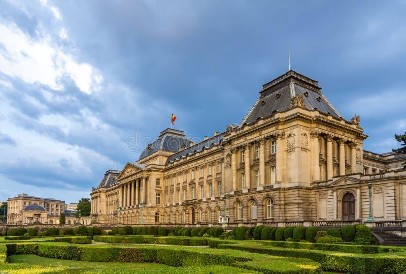 Royal Palace av Bryssel, Belgien royaltyfria bilder