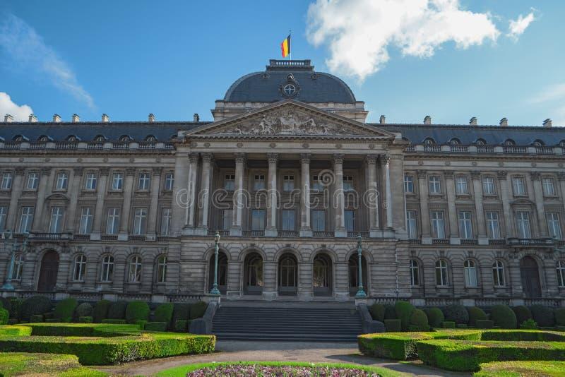 Royal Palace av Bryssel, Belgien, Europa arkivbilder