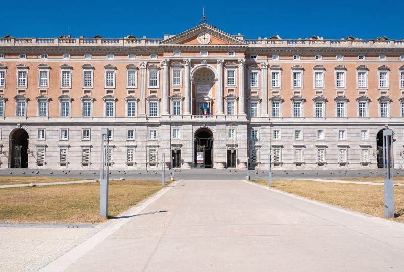 Royal Palace av Caserta fotografering för bildbyråer