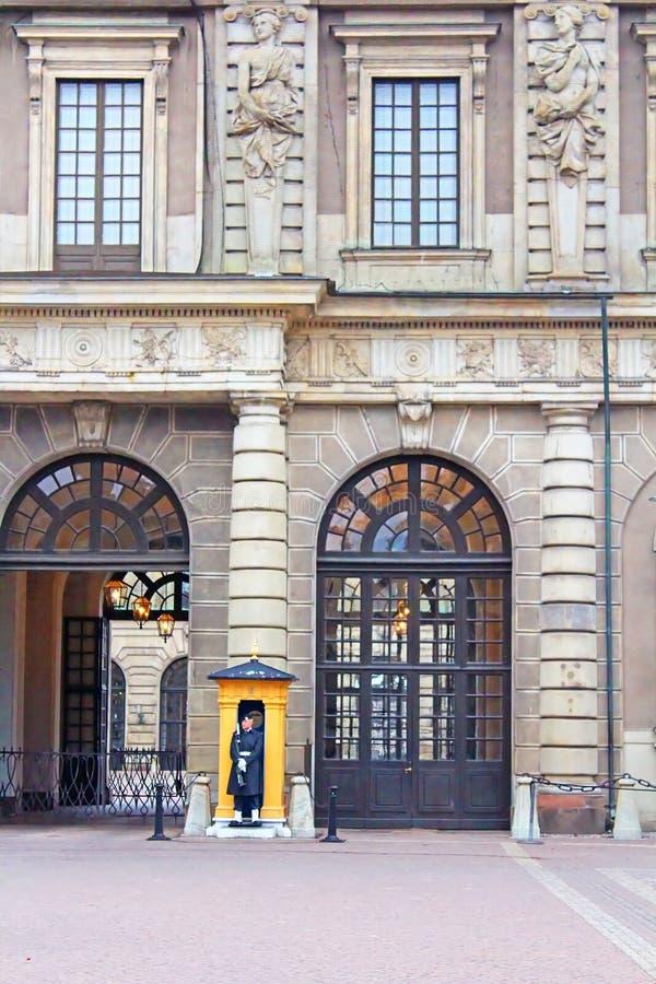 Royal Palace av Stockholm, Sverige royaltyfria foton