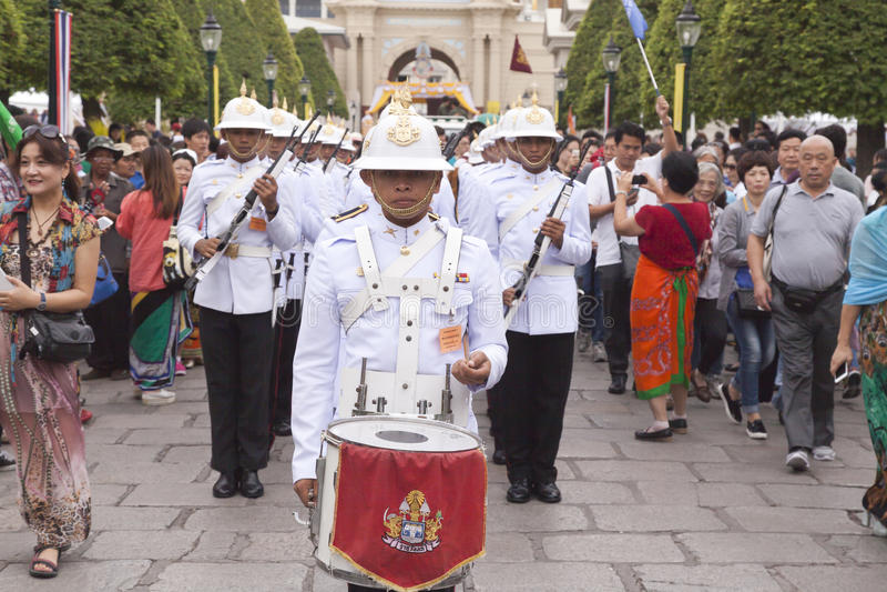 Royal Palace Bangkok stockfotos