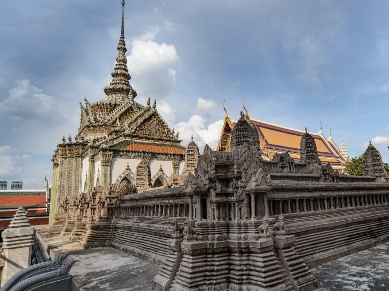 Royal Palace, Bangkok, Tajlandia zdjęcie royalty free