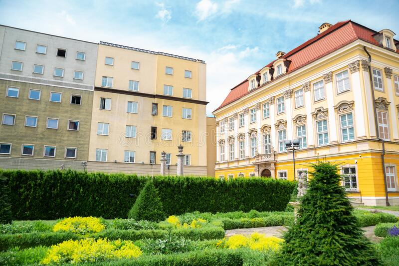 Royal Palace Baroque style architecture in Wroclaw, Poland. Europe stock photos