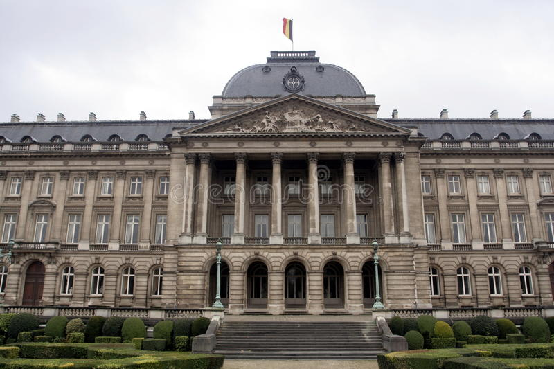 Download Royal Palace in Brussels stock photo. Image of city, belgian - 20330892