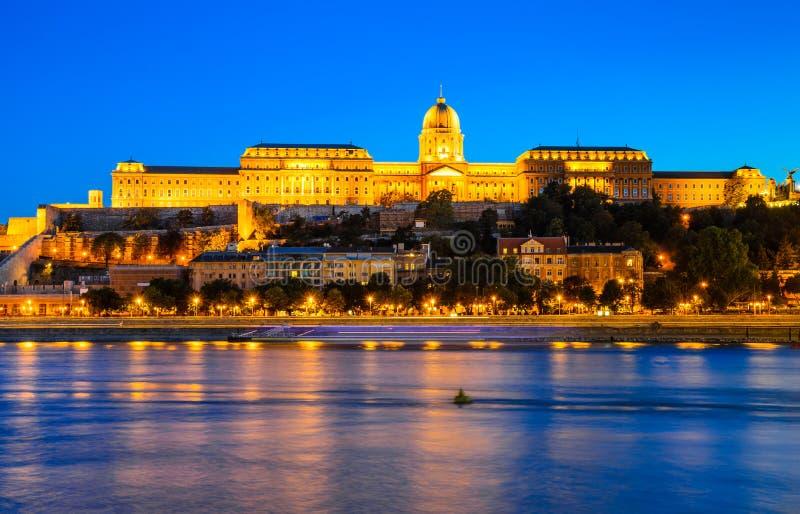 Royal Palace of Buda, Budapest royalty free stock image