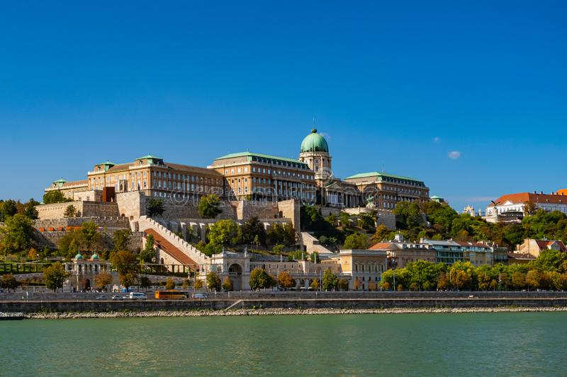 Royal Palace Budapest royalty free stock images
