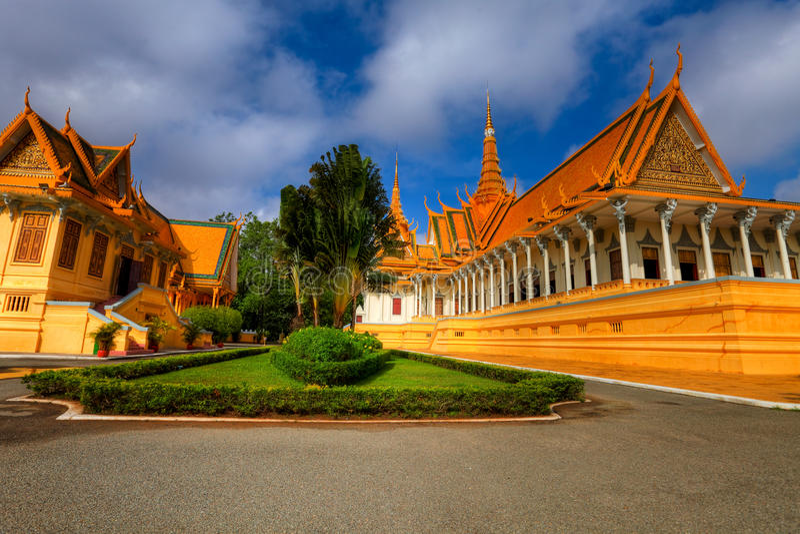 Royal Palace - Camboya (HDR) imagen de archivo