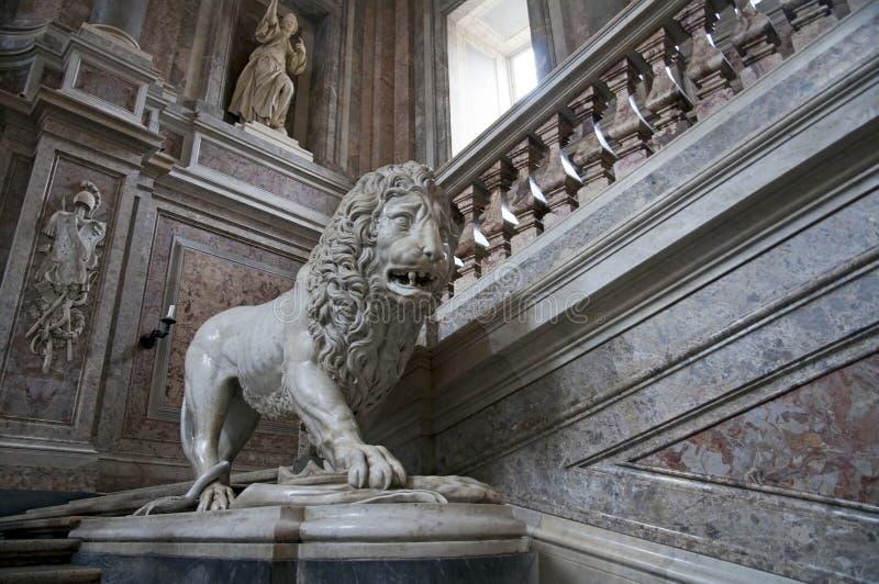 Royal Palace - Caserta, Italia fotografia stock libera da diritti