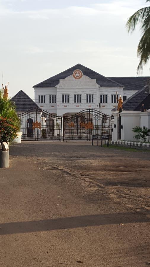Royal Palace d'Oni d'IFE images libres de droits