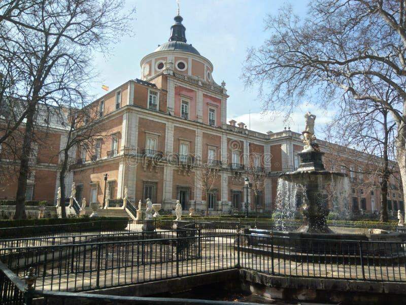 Royal Palace de Aranjuez imagem de stock