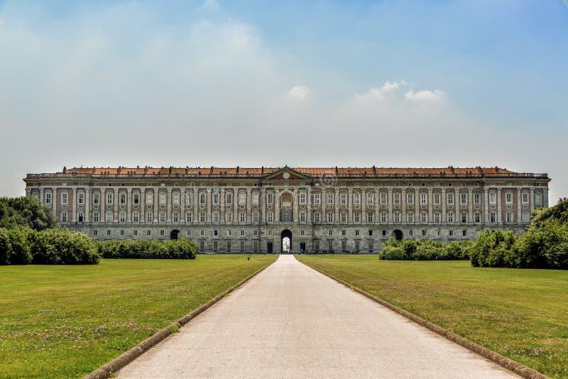 Royal Palace de Caserta imagen de archivo