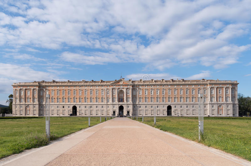 Royal Palace de Caserta, Italia imagen de archivo
