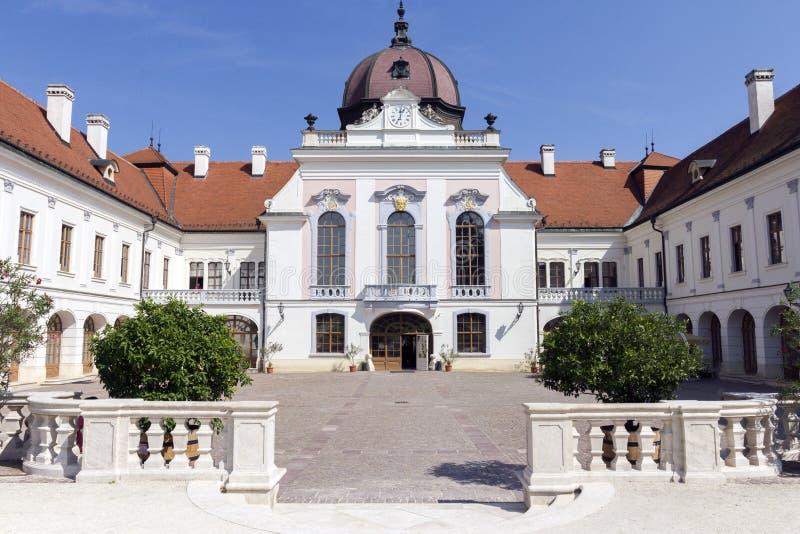 Royal Palace de Godollo fotografía de archivo