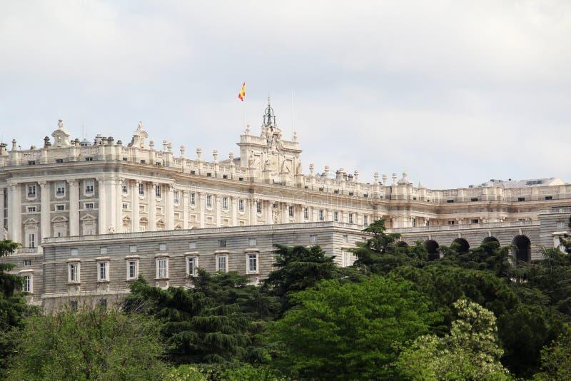 Royal Palace de Madrid, España imágenes de archivo libres de regalías
