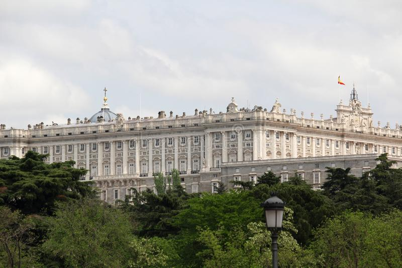 Royal Palace de Madrid, España fotos de archivo libres de regalías