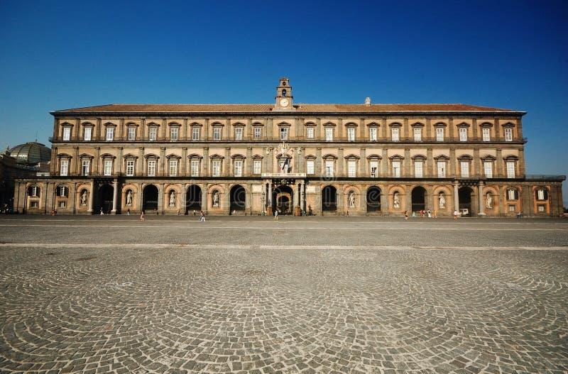 Royal Palace de Naples, Italie photos libres de droits