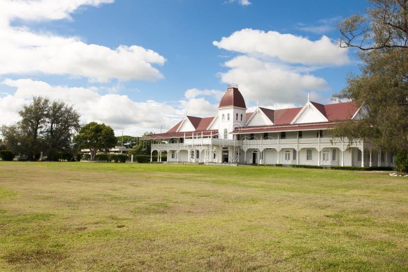 Royal Palace de Tonga fotos de stock