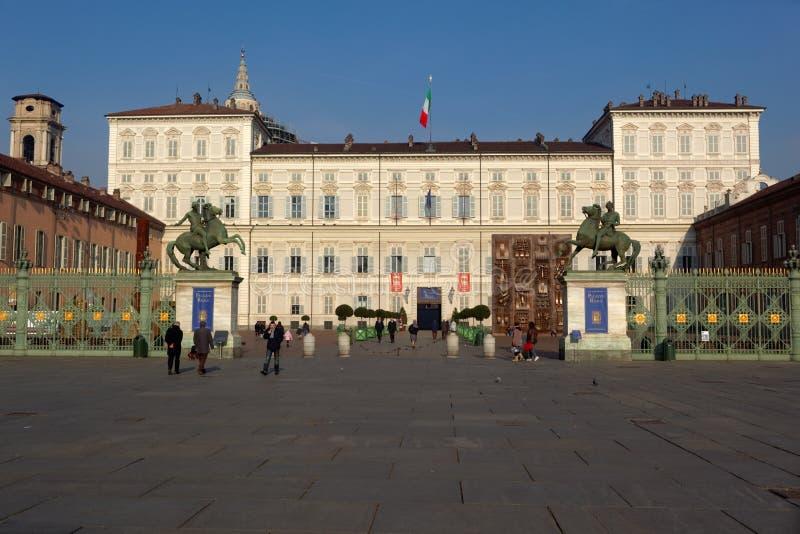 Royal Palace de Turín, Italia fotografía de archivo