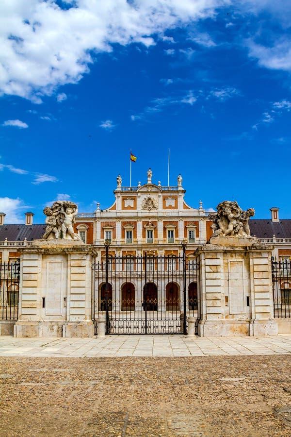 Download Royal Palace di Aranjuez immagine stock. Immagine di medioevale - 56890255