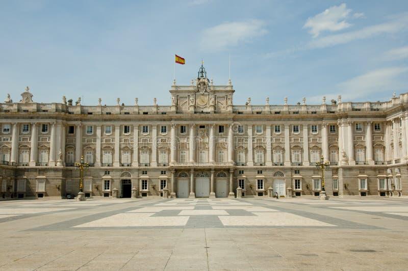 Royal Palace di Madrid - la Spagna fotografia stock libera da diritti
