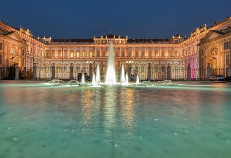 Royal Palace di Monza L'Italia immagini stock libere da diritti