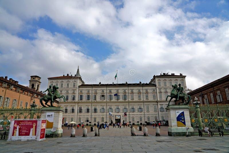 Royal Palace di Torino fotografie stock